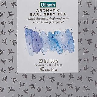 Dilmah Vivid Earl Grey Teabags Refill Box, 40 Grams