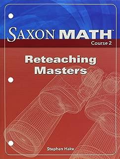 saxon math schedule