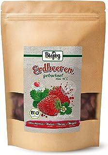 Biojoy Fresas deshidratadas BIO, endulzadas con un poco de