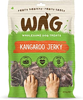 Watch & Grow Food Co Kangaroo Jerky Dog Treat, 200g
