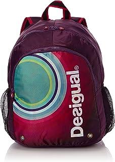 Desigual Tasche Mochila Galactic - Bolsa para colchoneta de yoga, color morado, talla 40 x 30 x 25 cm