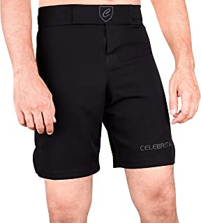 Celebrita MMA Shorts - BJJ Muay Thai Boxing Fight UFC Kickboxing Martial Arts Shorts - Choose Your Size and Color