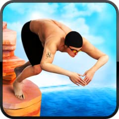 amazing graphics and diving movements realistic physics diving upbeat game vivid extreme diving conditions cliff jumping and diving game different difficulty levels