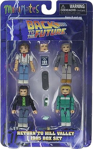 venta al por mayor barato Back to the Future 30th Anniversary Anniversary Anniversary Minimates 1985 Box Set  compras online de deportes