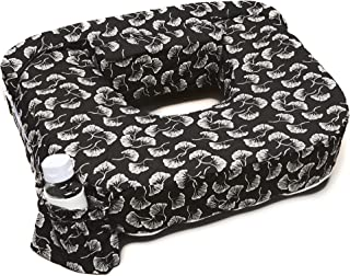 My Best Friend Twin Nursing Pillow Slipcover Flowing Fans, Black, White