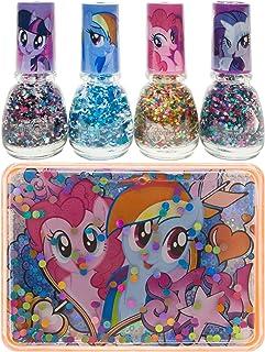 My Little Pony Polish With Glitter Box Set, Multi-Colour, MP1054SA, 4 Pcs