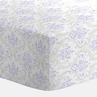 Best lilac and silver gray damask crib bedding Reviews