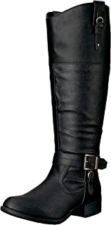 1578f83aad7b Rampage Women s Ivelia Fashion Knee High Casual Riding Boot