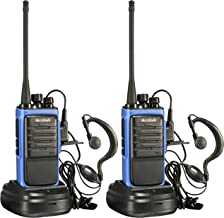 Arcshell Rechargeable Long Range Two-Way Radios with Earpiece 2 Pack UHF 400-470Mhz Walkie Talkies Li-ion Battery and Char...