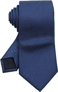[ダブリューアンドエム] メンズ ネクタイ フォーマル ビジネス オフィス 8cm 幅 レギュラータイ 洗濯 可能 無地 ソリッド プレーン ベーシック