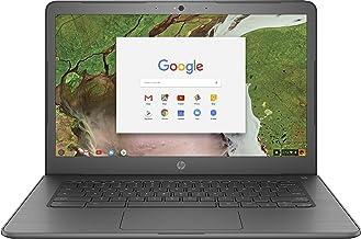 "HP 14"" Touchscreen Chromebook - Intel Celeron N3350 - 4GB Memory - 32GB eMMC - WiFi & Bluetooth - Webcam - Gray"