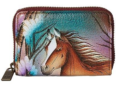 Anuschka Handbags Credit And Business Card Holder 1110 (Free Spirit) Coin Purse