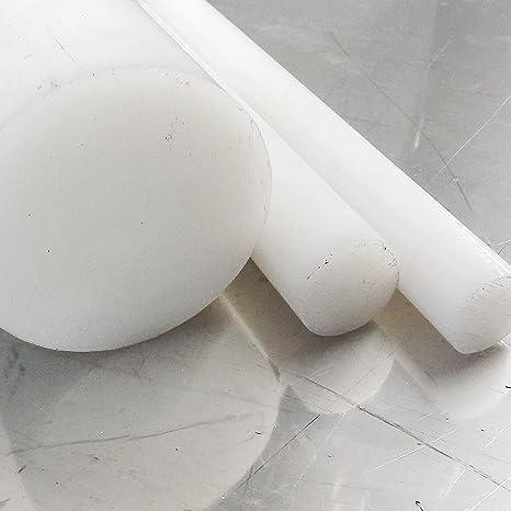 Rundmaterial Zuschnitt 140cm L: 1400mm Polyamid PA6 Rundstab schwarz /Ø 6mm