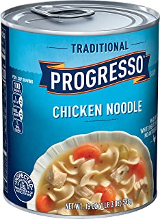 Progresso Traditional, Chicken Noodle Soup, 6 Cans, 19 oz