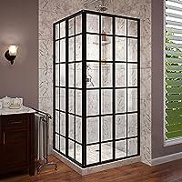 DreamLine French Corner Framed Sliding Shower Deals