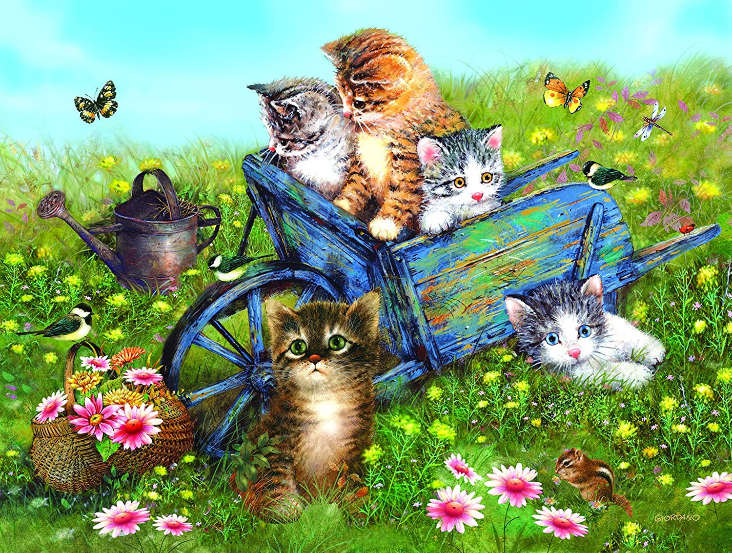 Field Trip for Kittens, A 300 Piece Jigsaw Puzzle by SunsOut