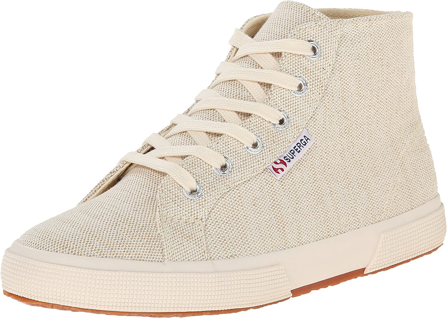 Superga Frauen 2095 Metallic Linen Leinen Fashion Turnschuhe