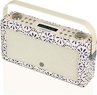 VQ Hepburn Mk II DAB & DAB+ Digital Radio with FM, Bluetooth & Alarm Clock – Emma Bridgewater Blue Daisy
