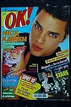 OK ! âge tendre 746 1990 AVRIL COVER MADONNA POSTER LES PHOTOS DE SON CONCERT AU JAPON NICK KAMEN