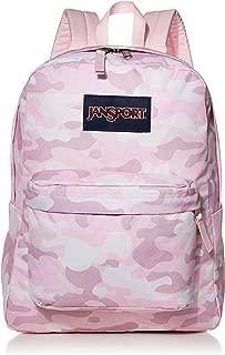 JANSPORT Superbreak Backpack - Lightweight School Pack, Cotton Candy Clouds