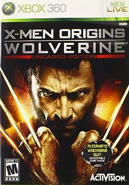 XBox 360 X-Men Origins Wolverine - Uncaged Edition w/Exclusive Alternate Wolverine Suit