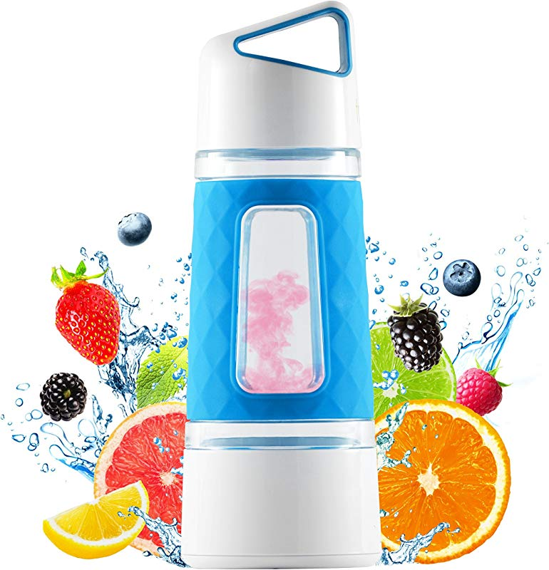 Fruit Infuser Water Bottle By Fruition Instant Infusion Basket For Fruit And Tea Durable Leak Proof 20oz Capacity BPA Free
