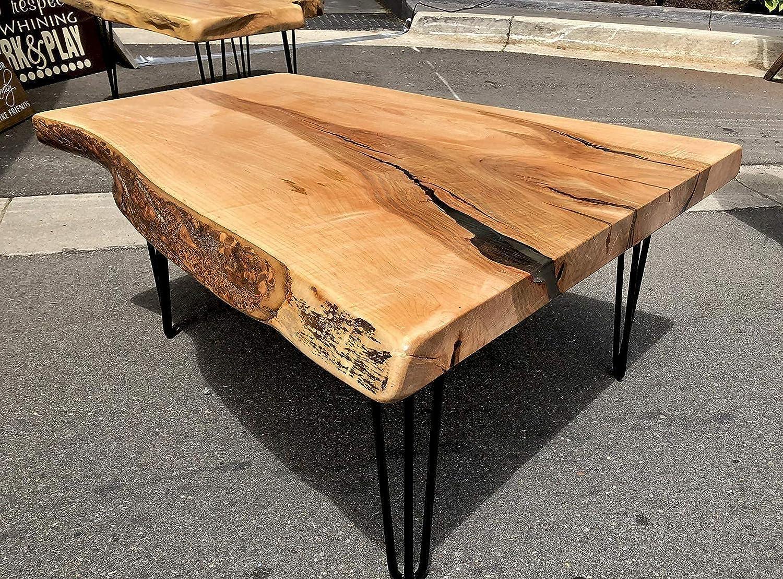 Ranking TOP2 live edge coffee table wood Fees free edg slab