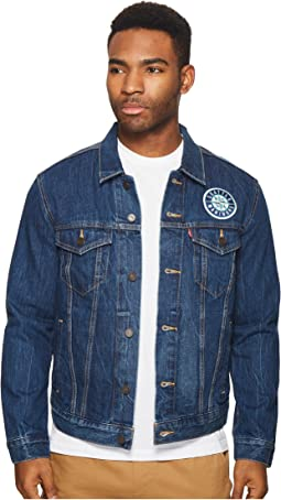 Seattle Mariners Denim Trucker