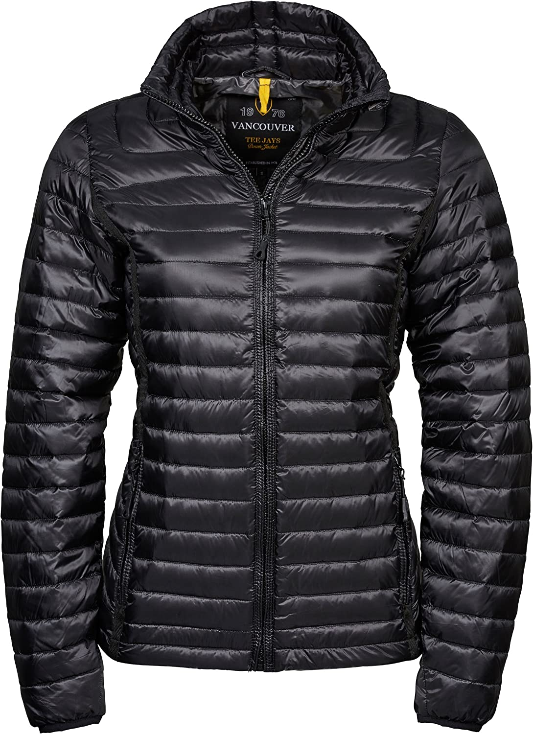Tee Jays Womens Ladies Vancouver Water Repellent Padded Down Jacket