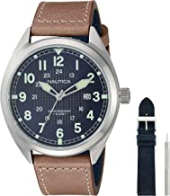 Best nautica watch brown leather Reviews