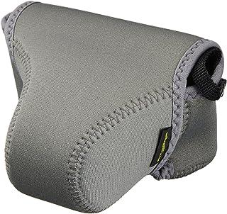 HAKUBA 一眼 カメラ ケース ピクスギア ネオプレーン カメラジャケット M グレー DCS-02MGY