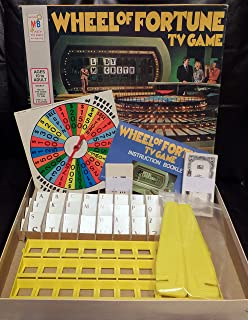 Vintage Wheel of Fortune TV Game 1975 Edition