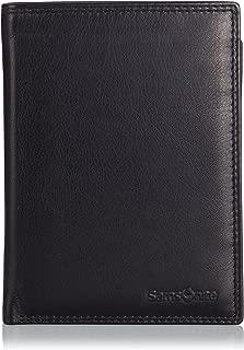 Samsonite ATTACK SLG WAL 7CC+COIN+2C+DET CC&ID, Portemonnaies homme - Noir - Schwarz (BLACK 1041), 2x13x10 cm (B x H x T) EU