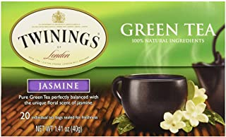 Twinings Tea Green Jasmine Tea, 20 ct