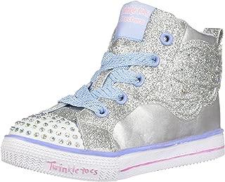 Skechers Kids' Shuffle Lite-Dainty Wingz Sneaker