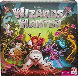 Wizards Wanted Strategy Board Game