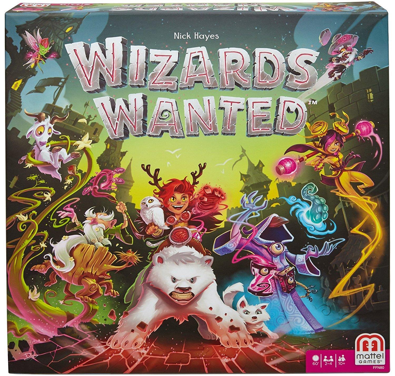 Wizards Wanted Board Game: Amazon.es: Juguetes y juegos