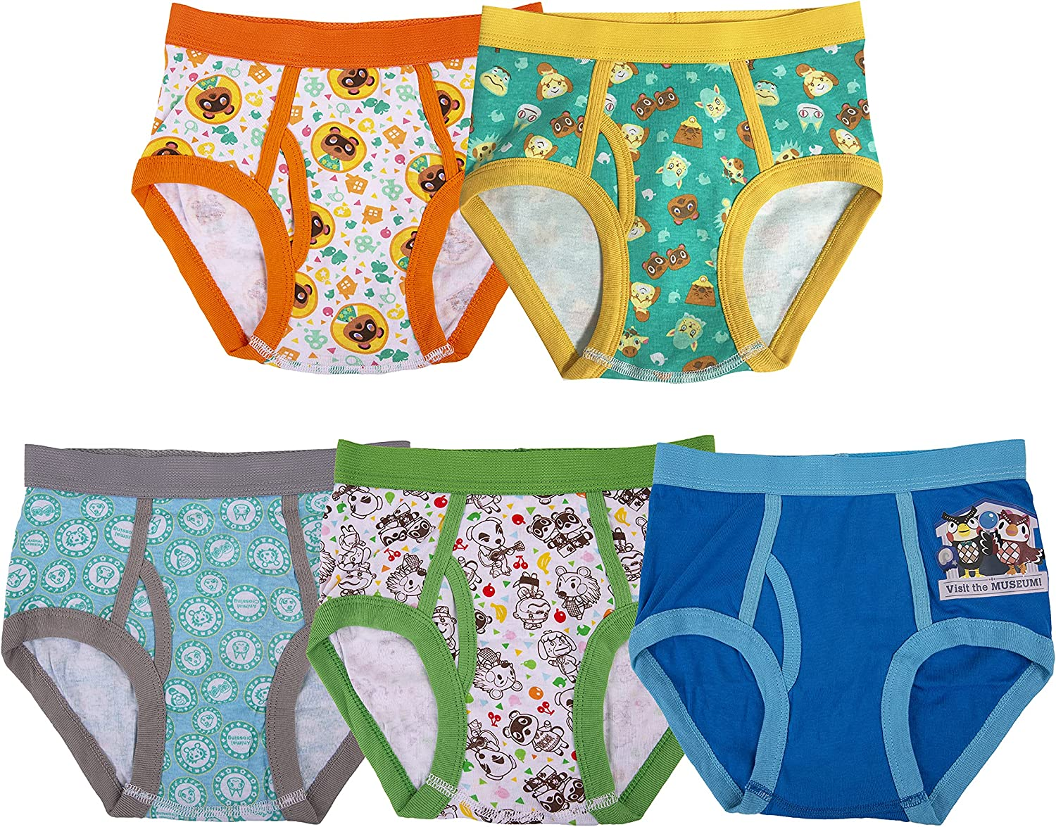 Nintendo Max 71% OFF Animal Crossing Underwear Multipacks Boys New products, world's highest quality popular!
