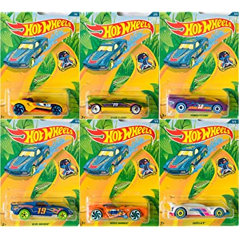 Hot Wheels 2019 Spring Die-Cast Easter Collection Complete Set of 6