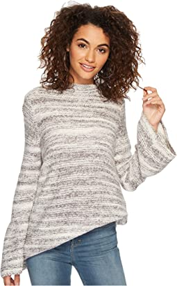 kensie - Space Dye Punk Yarn Sweater KSDK5673