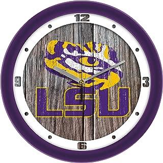 SunTime LSU Tigers - Weathered Wall Clock