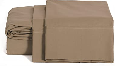 100% قطن بركال حجم كوين، رمادي داكن، 2 قطعة من أغطية الوسائد، كتان سرير قوي ومنعش