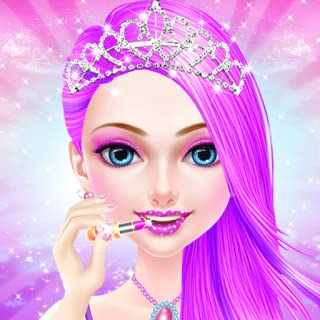 pink princess makeover game