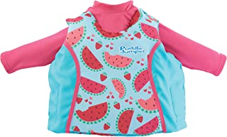 Puddle Jumper Kids 2-in-1 Life Jacket and Rash Guard, Fruits