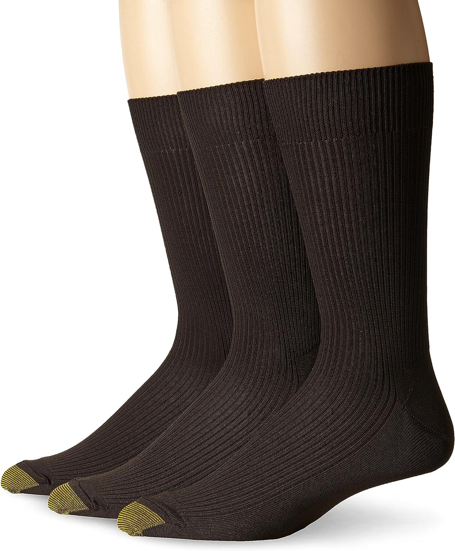 Gold Toe Men's Manhattan Socks, 3 Pairs