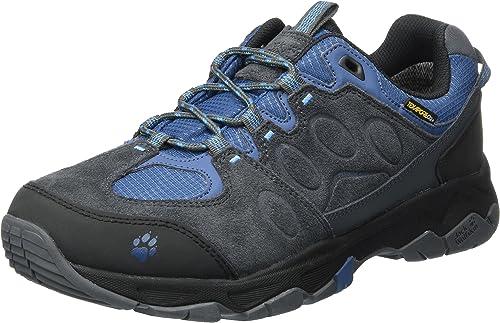 Jack Wolfskin MTN Attack 5 Texapore Faible M, Chaussures de Randonnée Basses Homme