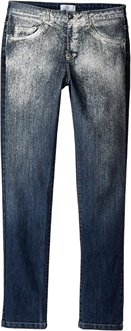 Versace Kids - Faded Denim Pants (Big Kids)