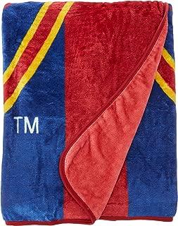 The Northwest Company MLS Salt Lake City Real Royal Plush Raschel Throw, One Size, Multicolor
