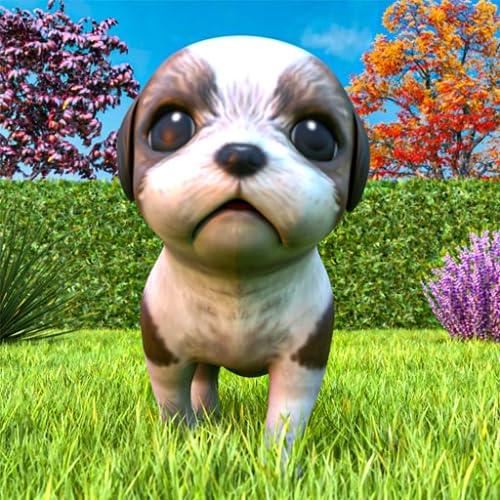 jogo de simulador de animal de estimação - jogo virtual gratuito de cachorro falante de cachorro fofo virtual