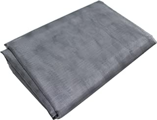 gardzen Anti-Insect Screen Garden Mesh Netting - Protect Your Garden Seedlings Vegetables Fruit Plants Ponds Against Mosquitoes, Bugs, Birds, Squirrel - 6.5x20 ft, Gray